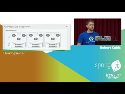Spanner - fully managed horizontally scalable relational DB with ACID transactions - Robert Kubis