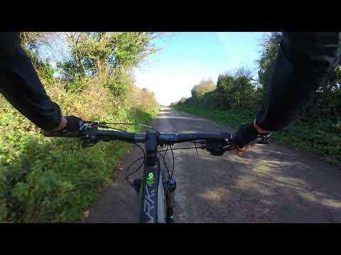 Testing the Scott E-Spark on a Hill in Deepest Cornwall