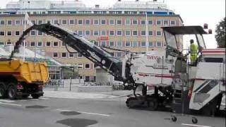 Wirtgen W 2000 asphalt milling machine