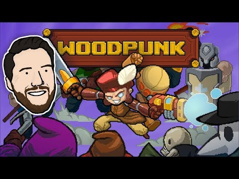 FEAR THE SPEAR | Let's Play Woodpunk | Graeme Games | First Look Gameplay