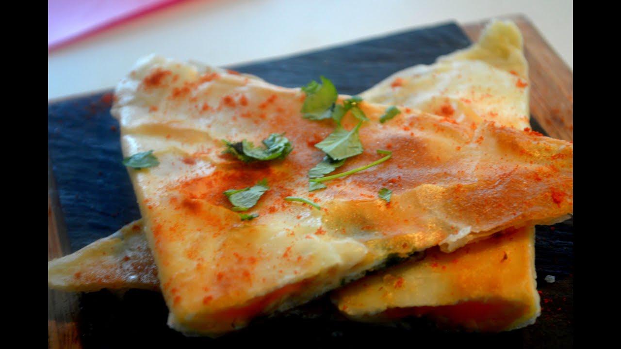 Cuisiner 1 recette rapide et facile brick l 39 oeuf youtube - Comment cuisiner une andouillette ...