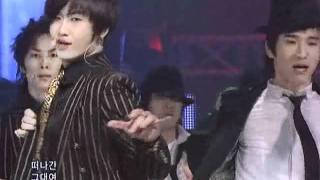 SS501 - U R Man (더블에스오공일-유아맨) Remix ver @ SBS Inkigayo 인기가요 090111