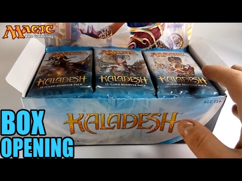 MTG Kaladesh Box Opening