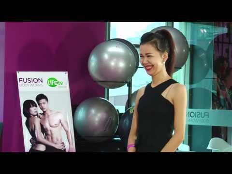Chân dài thi fitness Vietnam Fitness Star 2014