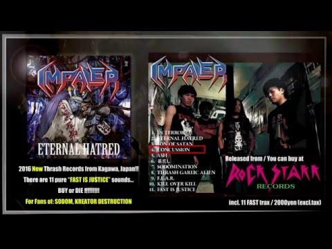 IMPALER eternal hatred CD TEASER(ROCK STAKK RELEASE)