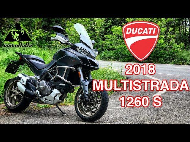 DUCATI Multistrada 1260 S 2018, İlk İzlenim, Motovlog
