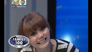 New Famili 100 - Ep398 - Special HUT INDOSIAR (D Host vs. Puteri Indonesia)