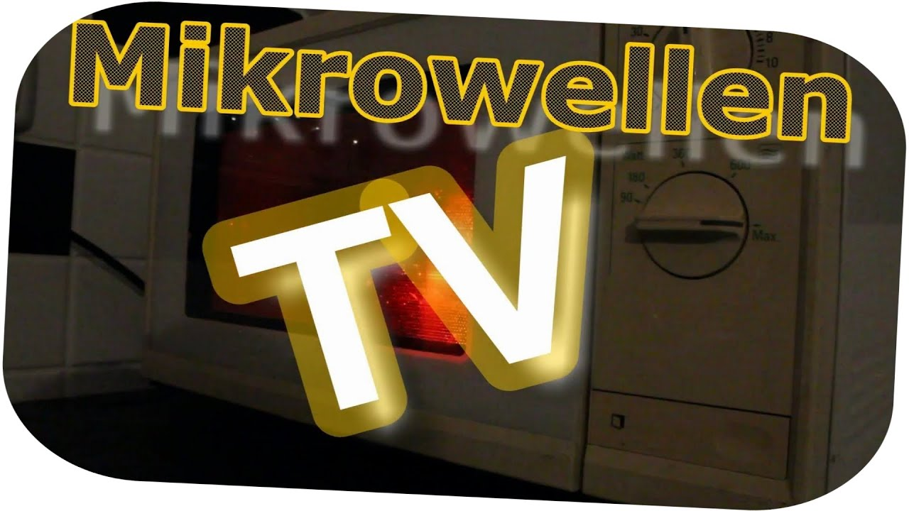 Alufolie Chipstute Mainboard In Mikrowelle Ep1 Mikrowellen Tv