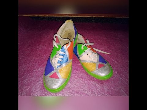 DIY Shoes painting
