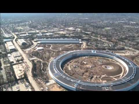 Inside Apple's HQ Silicon Valley it's referred to as the spaceship
