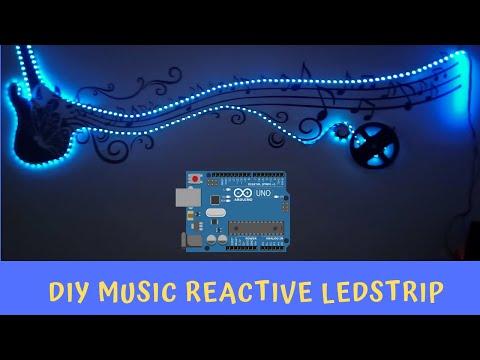 DIY Music Reactive LED Lights Using Arduino