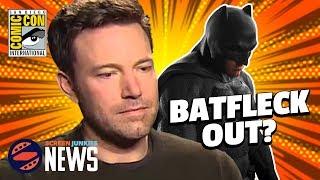 Ben Affleck's Batman Future In Doubt? - (SDCC 2017)