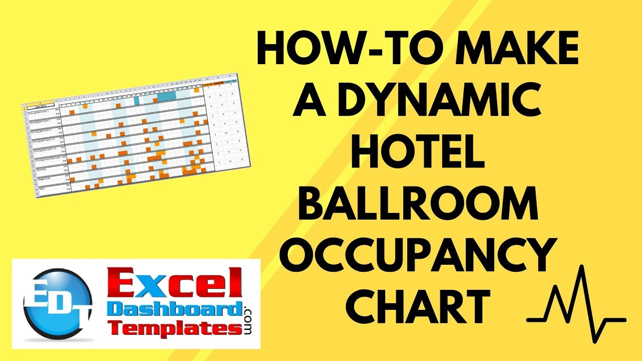 how to make a dynamic hotel ballroom occupancy chart youtube. Black Bedroom Furniture Sets. Home Design Ideas