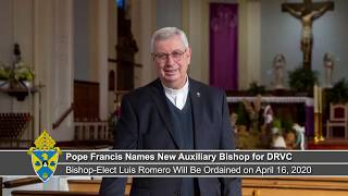 Pope Francis Names New Auxiliary Bishop for DRVC