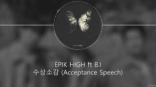 Download EPIK HIGH ft B.I - 수상소감 (ACCEPTANCE SPEECH) [HAN+ROM+ENG]