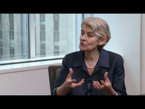 Interview Part One, Irina Bokova, Director-General, UNESCO and UNSG Candidate,