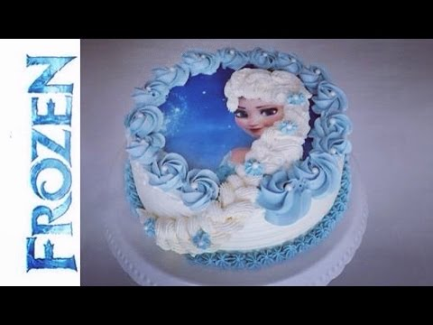 frozen torte i elsa die eisk nigin torte i frozen birthday cake youtube. Black Bedroom Furniture Sets. Home Design Ideas