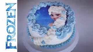 Frozen Torte I Elsa die Eiskönigin Torte I Frozen Birthday Cake