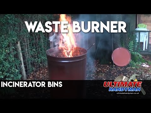 Incinerator bins - YouTube