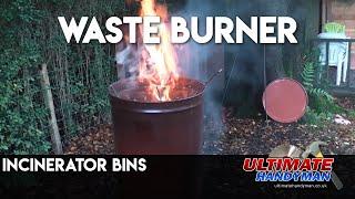 Incinerator bins