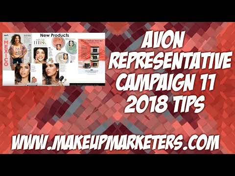 Avon Representative Campaign 11 2018 Tips