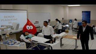 Impulsa STAUS el primer módulo de Donación de Sangre, que logra 60 unidades