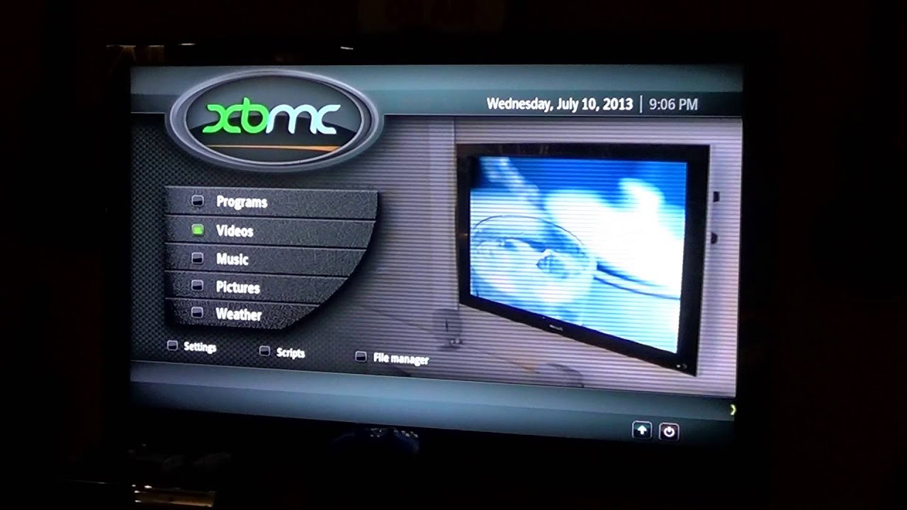 Soft modded Xbox with Coin Ops 5 r14 & XBMC with add-ons ...