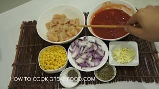 Easy Garlic Chicken Tomato Pasta Recipe
