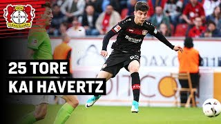 Kai Havertz on fire 🔥 | Seine ersten 25 Bundesliga-Tore