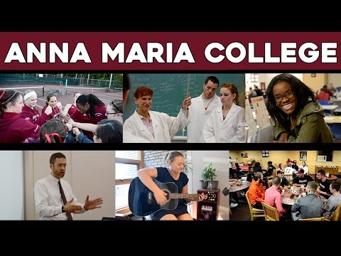 Anna Maria College | We Are One