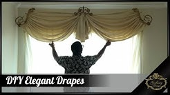Do It Yourself DIY Elegant Drapes | Galaxy Design Video #171