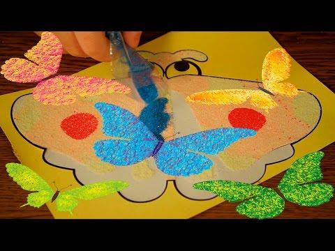 Поделки с цветным песком / Play coloured Sand