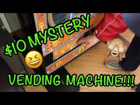 $10 MYSTERY VENDING MACHINE!!!