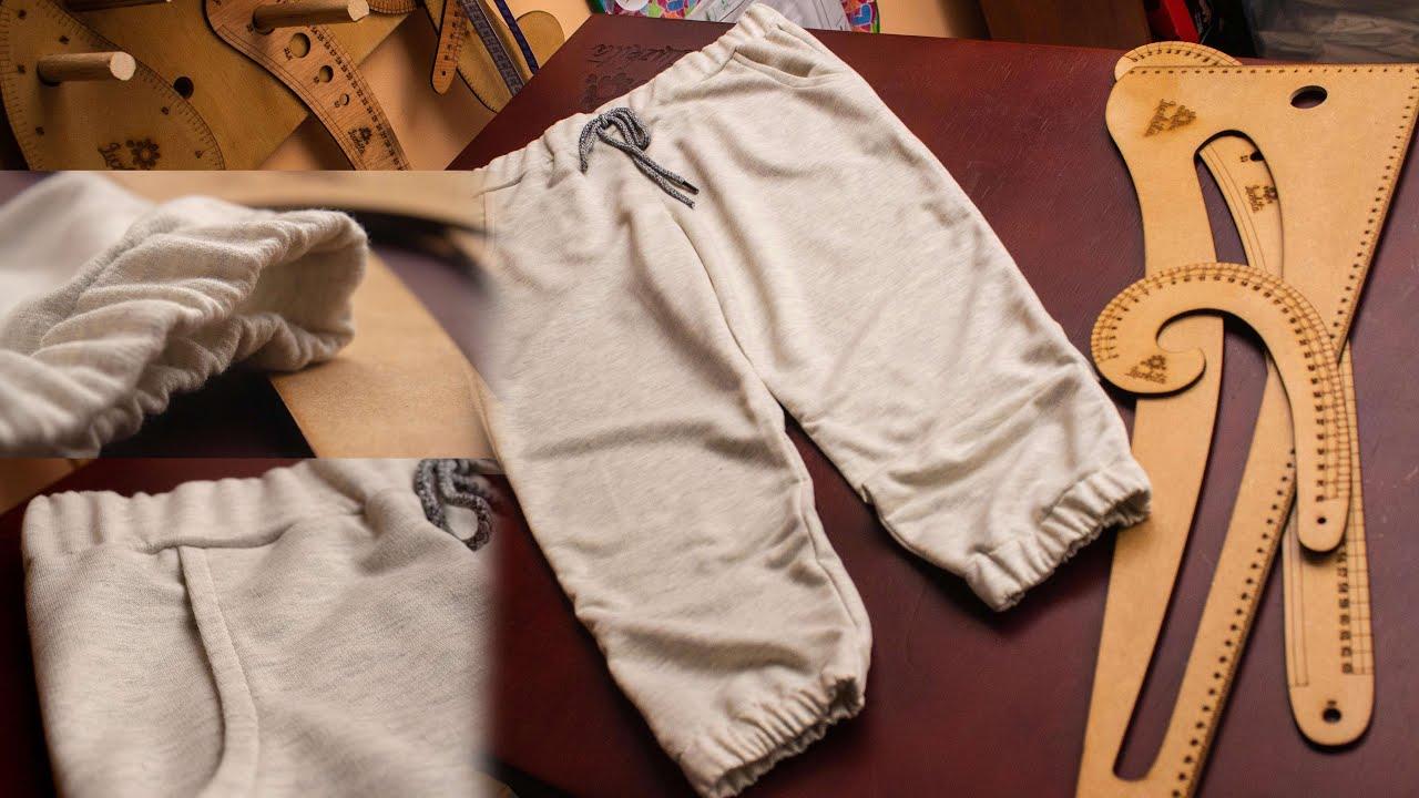 Jogger pantalón infantil fácil/Patrones gratis! Corte y costura Aprende con Luzkita/Idea de negocio