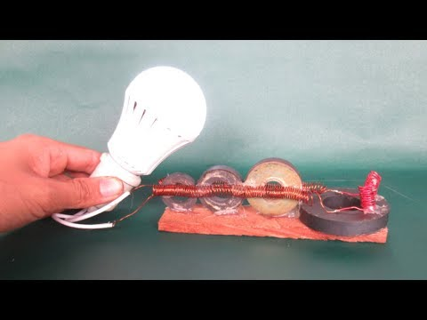 Light bulbs magnets free energy easy - New idea projects for learning 2018