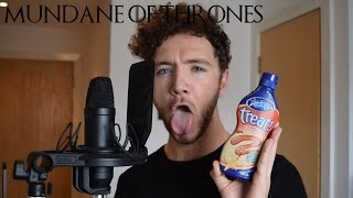 GAME OF THRONES CHARACTERS READ MUNDANE ITEMS