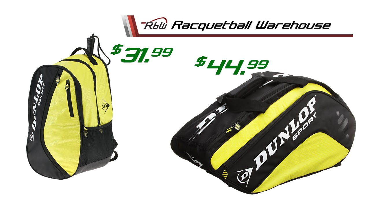 Rbw S 12 Days Of Savings Day 4 Dunlop Racquetball Bag Series