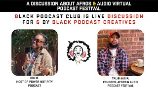 Afros & Audio IG Live - November 11, 2020