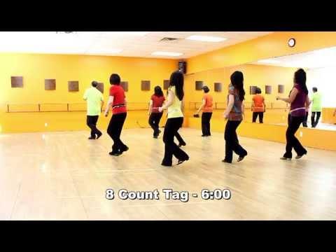 Knockin' On Wood - Line Dance (Dance & Teach in English & 中文)
