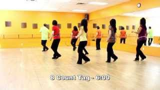 Knockin' On Wood - Line Dance (Dance & Teach in English & 中文)