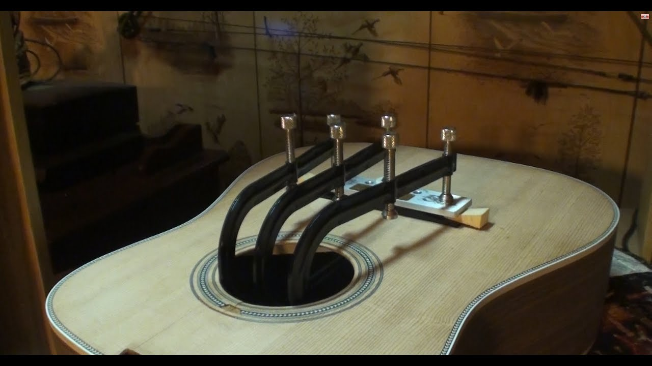 stewmac hd28 kit guitar build part 2 youtube. Black Bedroom Furniture Sets. Home Design Ideas