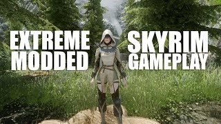 ♥ HEAVILY MODDED SKYRIM GAMEPLAY ♥ *Links*