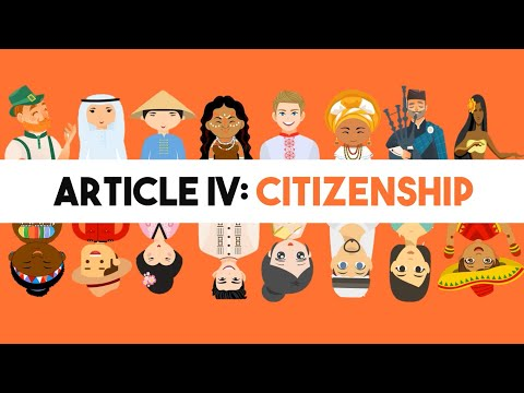 Article 4 of the Philippine Constitution: Citizenship