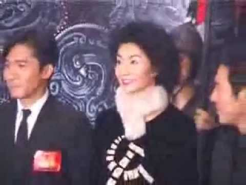 Tony Leung Chiu Wai at the premiere of Hero (2002)
