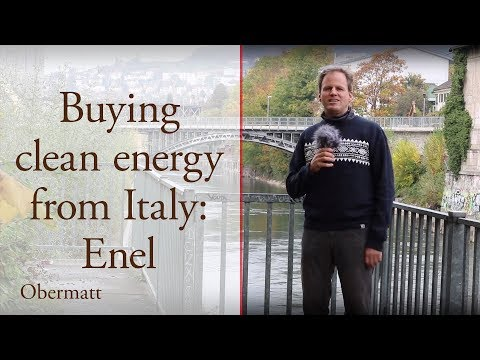 Buying clean energy from Italy: Enel
