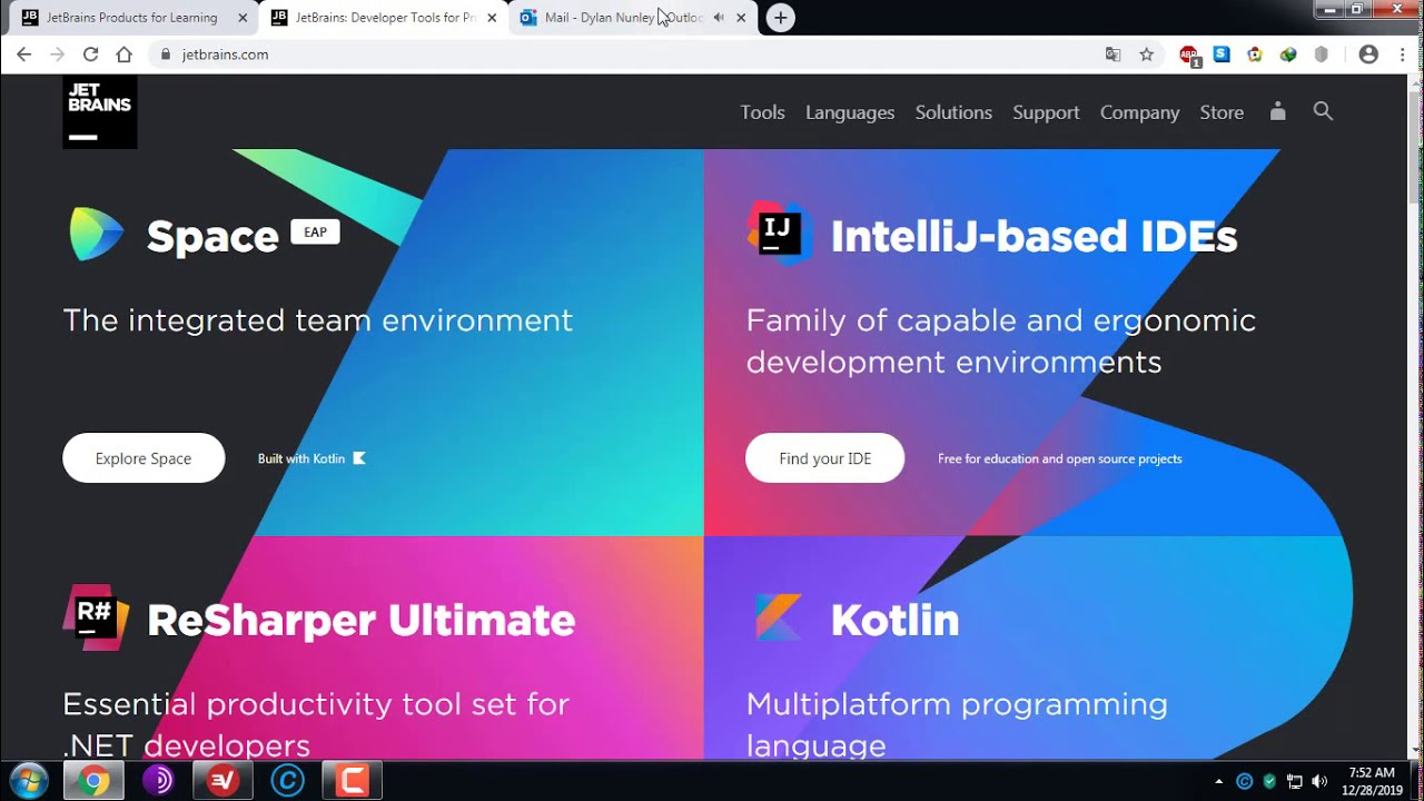 How to get products JetBrains for free