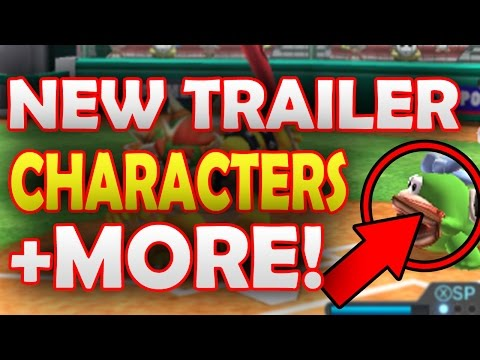 NEW Trailer, Characters & More REVEALED! - Mario Sports Superstars