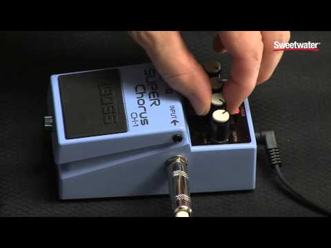 Boss CH-1 Stereo Super Chorus Pedal Review by Sweetwater Sound