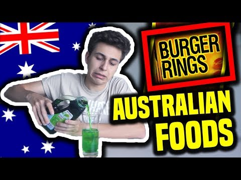 Trying Australian Foods!