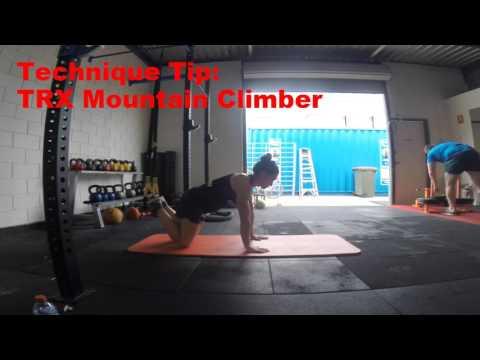 Technique Tip: TRX Mountain Climber